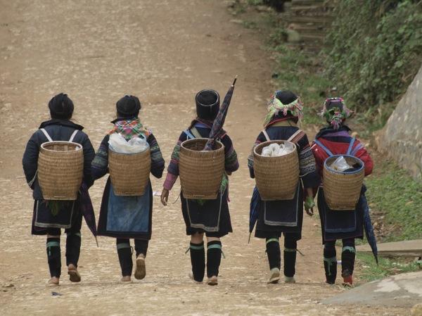 Compartiendo en la tribu