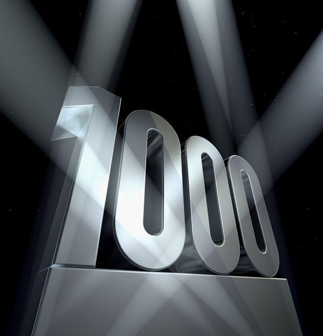 1.000 fans