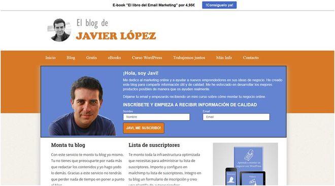 El blog de Javier López