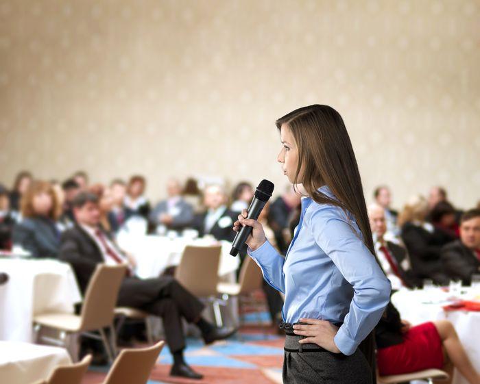 Cómo disfrutar al hablar en público