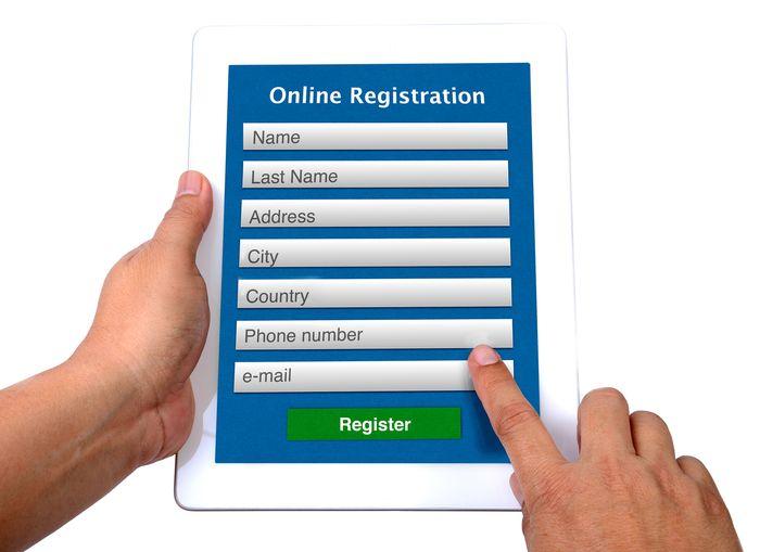 El Registro obligatorio del usuario en tu sitio web y la agencia de protección de datos